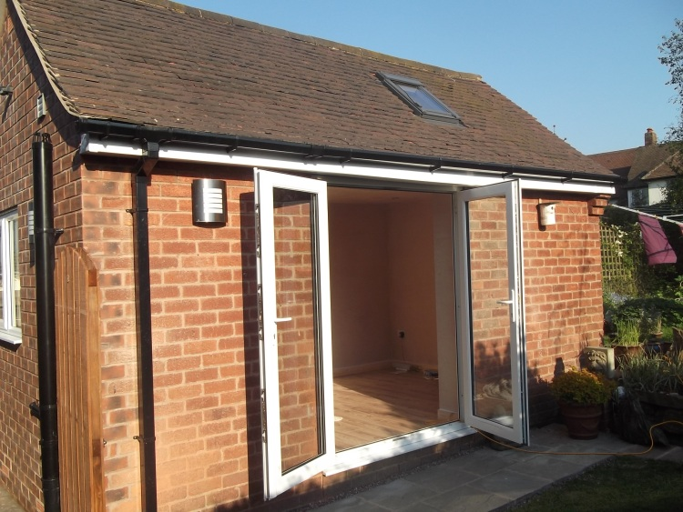 Garage Conversion Chesterfield April 2012 14