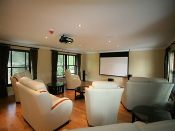 Garage Conversion Ideas cinema-room