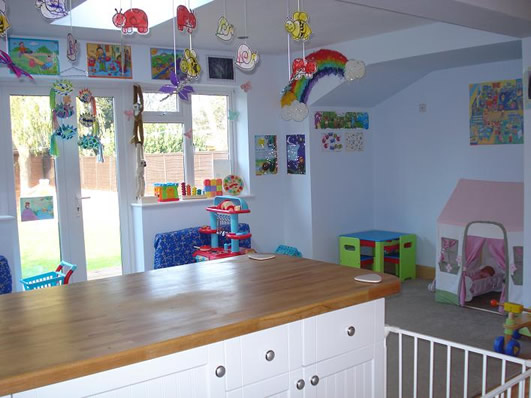 Garage Conversion Ideas play-room