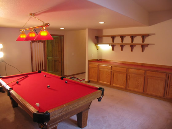 Garage Conversion Ideas pool-room