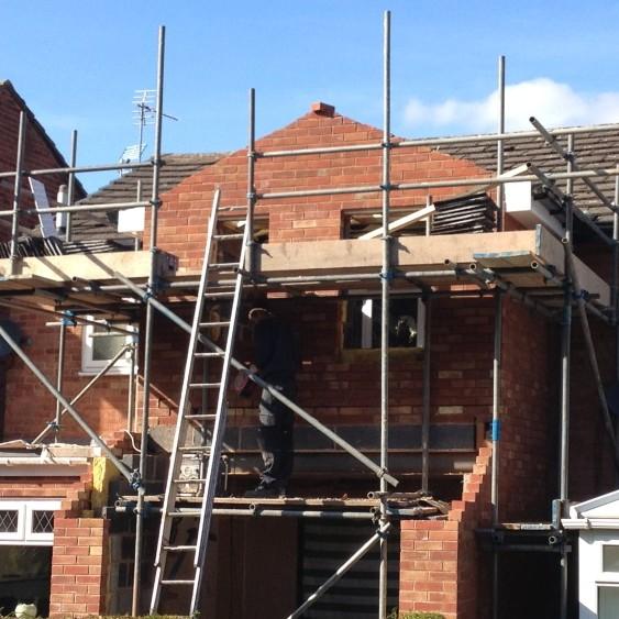 House Extension Norton November 2013