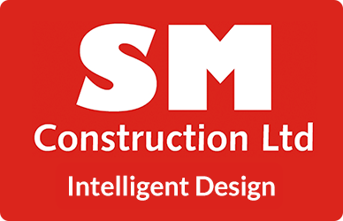 SM Construction Logo